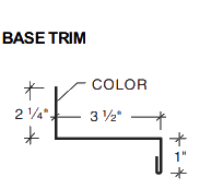 Shadow Rib Base Trim