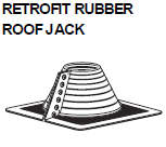 Retrofit Rubber Roof Jack