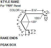 Style Rake for PBR Panel